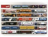 Herpa 029254 - Mobile espositore per camion, 64,5 x 45 x 3,5 cm, colore: Bianco