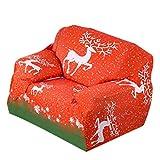 Sofa-Schonbezüge, Weihnachten Stretch Sofakissen Full Cover Ohne Armlehne Voll Anti-Rutsch-Stoff Sofakissen Kombination Sofa Cover Handtuch