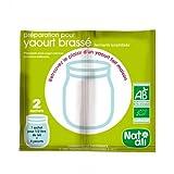 NatAli- Préparation pour yaourt brassé bio - 2 x 1/2 litre