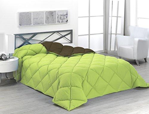 Sabanalia - Edredón nórdico de 400 g , bicolor, cama de 105...