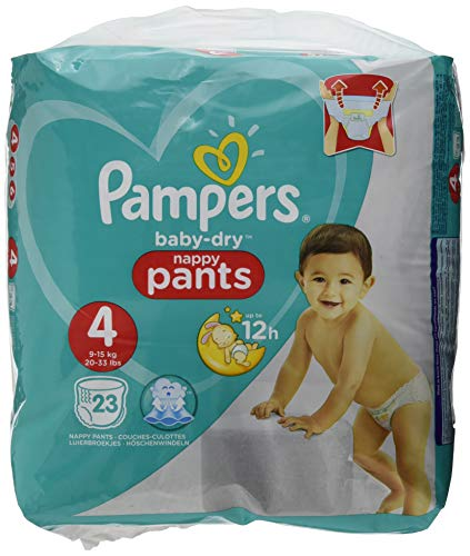 Pampers Easy up - Das Paket von 22 - Changes Baby T4 8 - 15 kg