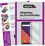 Wiko View Schutzfolie - 2x dipos Displayschutzfolie Folie klar