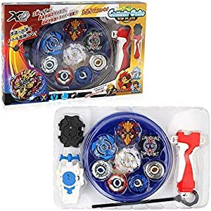 Metal Spinning Top Toy Launcher Battling Top Fight Fight Masters Games B105