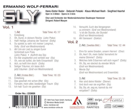 Bader/Polaski/Reeh/Maxym Wolf-Ferrari: Sly