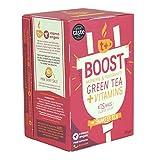 T Plus - Boost Raspberry & Pomegranate Green Tea + Vitamins - 30g