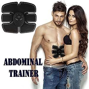 Someas EMS Elettrostimolatore Addominale Muscolare Trainer Addome/Gambe/Waist/Glutei Massaggi-attrezzi Ricaricabile Riduzione del Grasso (Uomo/Donna )