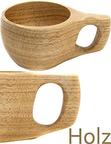 OUTDOOR SAXX - Holz Becher Tasse Kuksa Holztasse   Mittelalter Handmade Design