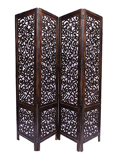 Aarsun Handcrafted Wooden Screen / Room Divider / Room Separator