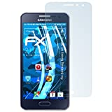Samsung Galaxy A3 (2015) Schutzfolie - 3 x atFoliX FX-Clear kristallklare Folie Displayschutzfolie
