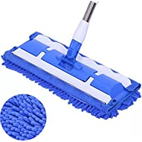 Professionale in microfibra di pulizia per lavapavimenti Sweepers Kitchen Me Blue - Starter Kit Sistema
