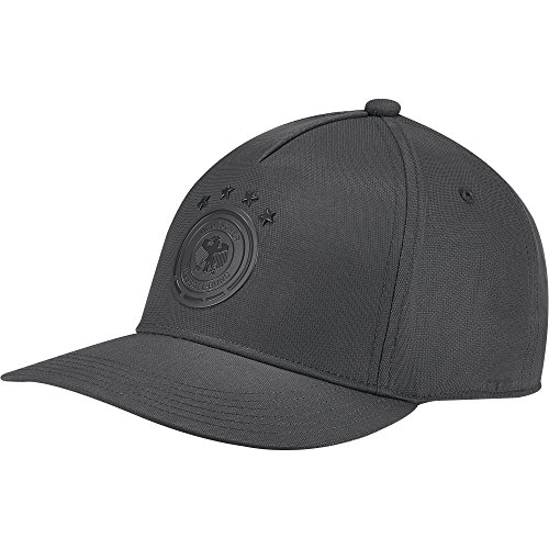 adidas Herren DFB HP Kappe, Dark Grey/Black, OSFL