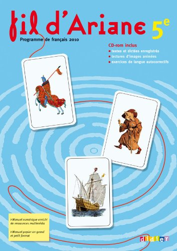Fil d'Ariane 5e - Livre + CD -rom