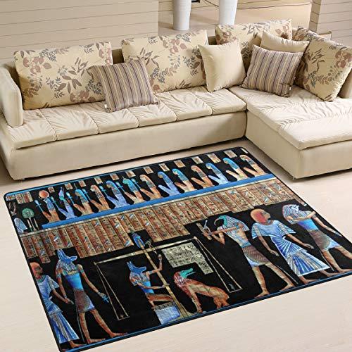 Ahomy Area Rugs Antike Ägyptische, Multi, 80 x 58 inch