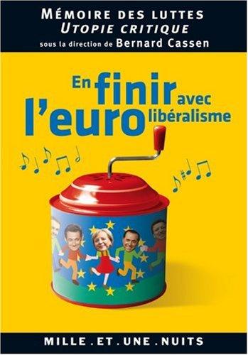 En finir avec l'eurolibralisme