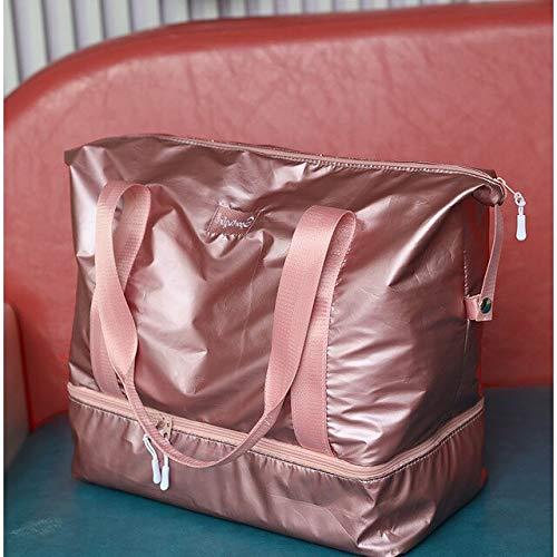 Miles Sail Yogataschen Sporttaschen Für Fitness Sporttasche Dry Wet Sports Training Sporttaschen Handtaschen Travel Swim Sack gestreift Sporttas XA654WA, Glitter Pink - Frauen Glitter Nike