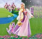Mattel - Barbie B5826-0 Barbie als Rapunzel, Puppe