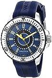 Nautica Herren-Armbanduhr Analog Quarz Silikon N14664G