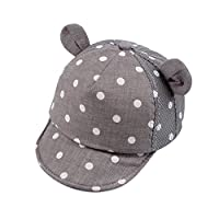 De feuilles Baby Summer Caps Girl Boys Sun Beach Hat with Ear