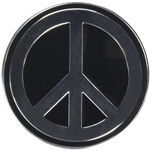 "PEACE SIGN, Officially Licensed Original Artwork, 2.625"" - Heavy Duty Metal Sticker DECAL ETICHETTA"