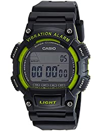 Casio Youth Digital Black Dial Men's Watch-W-736H-3AVDF