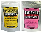 Max-Fat-Burner-Capsules-Plus-Raspberry-Ketones-Combo-Strongest-Slimming-Weight-Loss-Diet-Pills-1-Month-supply-of-each