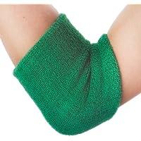 Gogo Color sólido Brazo muñequeras–12Piezas, Niños niña Hombre, Verde