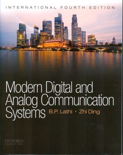 Modern Digital and Analog Communications Systems (Oxford Series in Electrical and Computer Engineering)