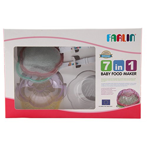 Farlin BPA Free 7 in 1 Baby Food Maker (Multi color)