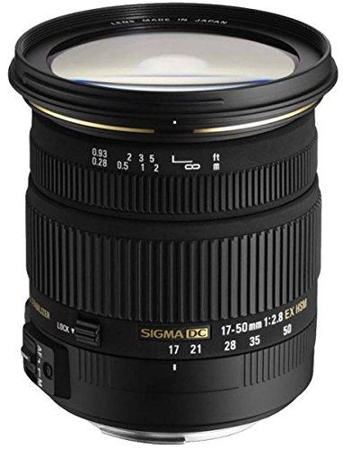 Sigma 17-50 mm F2,8 EX DC HSM-Objektiv (77 mm Filtergewinde) für Pentax Objektivbajonett - Sigma-objektiv Mm 50