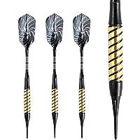 ammut dardos de punta blanda 18G dardos para diana electrónica con Slim Pack