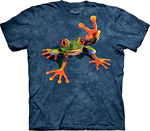 Victory Frog T-Shirt 100% Cotton Short Sleeve Shirt in Youth, Teen, and Adult Sizes (Youth Medium Age