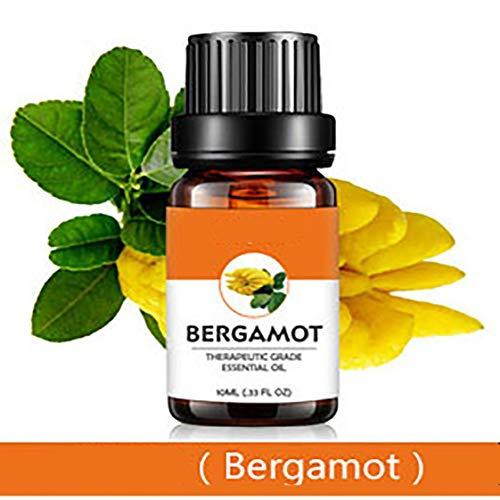 Bergamotte Pflanze Ätherisches Öl Reines Unverwässerte Ätherisches Öl Für Massage Und Hautpflege 10 Ml - 1/3 Unze -
