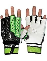 KOOKABURRA Unisex Reflex Hand Guard L R/H Hockey Schutzausrüstung, schwarz/lime, L