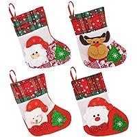 Weihnachten Baum Strumpf Socke Katze//Hund Kinder Geschenktüte Neues Jahr Hängen