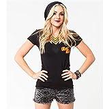 Metal Mulisha - - Frauen-Moto-Club-T-Shirt, Small, Black