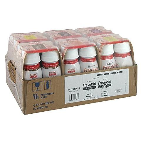 Fresubin 2kcal + 2kcal fibre DRINK Mischkarton / 6 Geschmacksrichtungen - Trinknahrung - 24 EasyDrinks (je 200