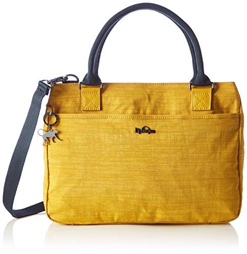 Kipling Caralisa, Damen Shopper, Yellow (Dazz Corn), 34x25x11 cm (W x H x L)