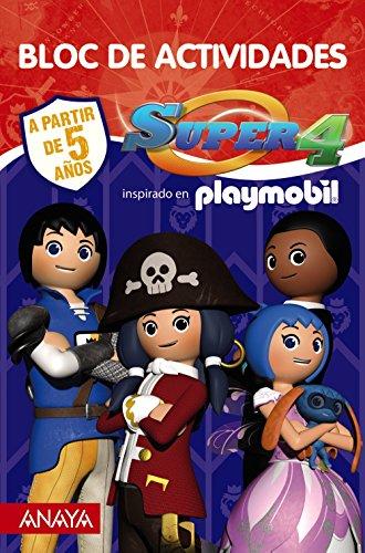 Super 4 - Bloc de actividades (Literatura Infantil (6-11 Años) - Super 4)