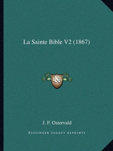La Sainte Bible V2 (1867)