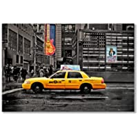 Póster: nueva YORK 7 Avenida de TAXI amarillo NYC ColorLIGHT (A1 - 61 x 91,5 cm maxi 24 x 36/en, semi-brillante papel satinado)