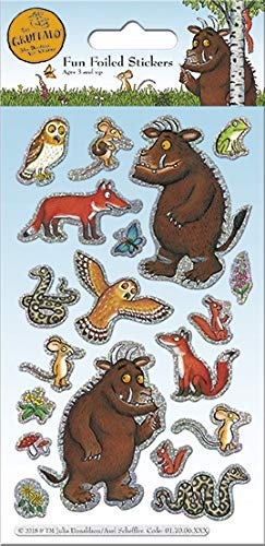 Paper Projects 01.70.06.140 Gruffalo x 12 sheets of stickers