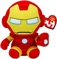 TY 41190 Reg Iron Man-Marvel-Gorro, Multicolor