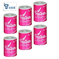Tshot Toilet Papers Roll (2 Ply Roll) (320 Sheets Per Roll) (Pack Of (6)