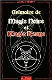 Grimoire de magie noire et magie rouge
