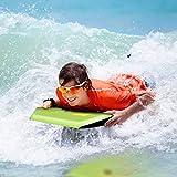 """COSTWAY 42""""(106cm) Body Board EPS Beach Design Bodyboard Pool Swim Float Wave Core"""