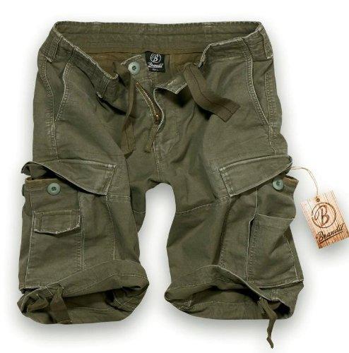 Brandit Vintage Short  Gr:- M, Farbe:-Oliv