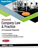 Advanced Company Law and Practice for CS Professional Old Syllabus Latest Edition By Sangeet Kedia, Applicable for December 2019 Exam