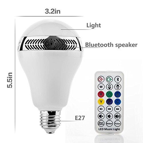 vente grde bluetooth 40 smartapp ampoule led standard culot e27 avec haut parleur smart bulb en. Black Bedroom Furniture Sets. Home Design Ideas