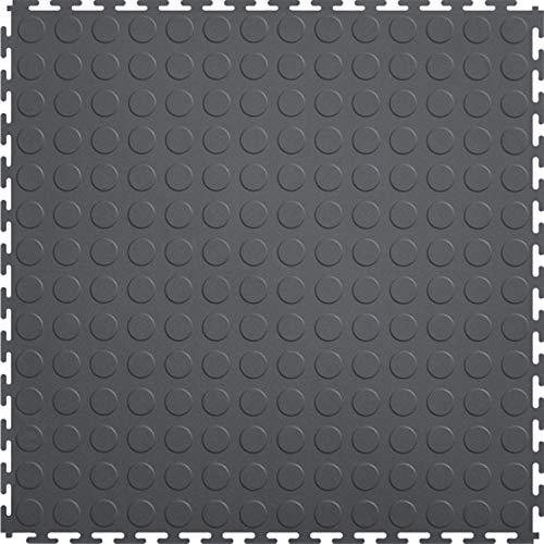 Mats Inc. Protection Garagenbodenfliesen, 52,1 x 52,1 cm, Dunkelgrau