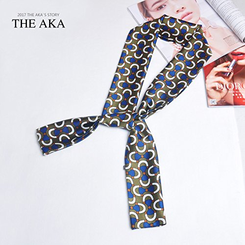 H ist Seidenschal Stadt der Mode Im Frühjahr und Herbst Jahreszeiten, ein Schal stilvolle Deko Schals binden Sommer lang sind, Bettwäsche Handtücher, Bettwäsche, langer Schal